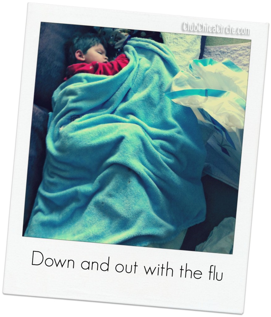 Down and out with the flu