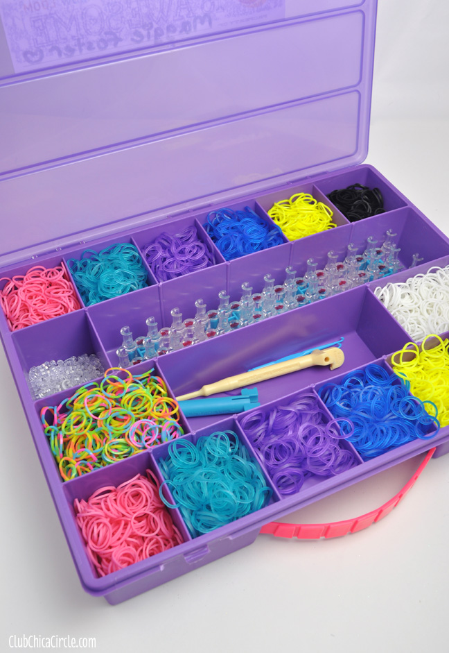 Rainbow Loom Organizer Tray & Rainbow Loom Organizer Free Printable Labels
