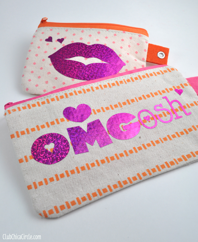 Personalized pencil pouches for tweens