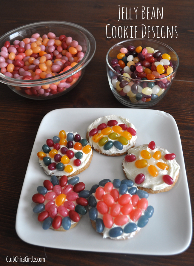 Jelly Bean Easy Cookie Decorating