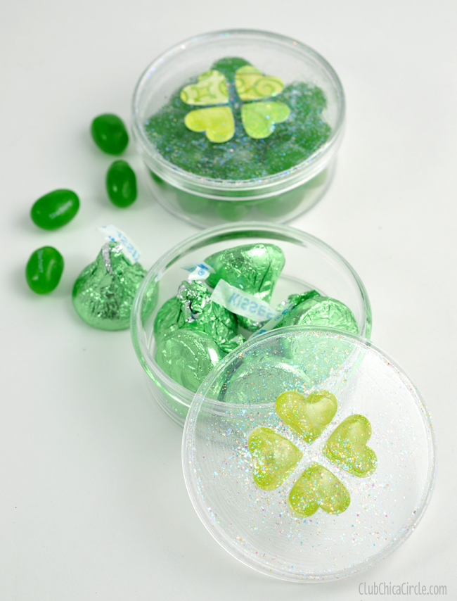 St. Patrick's Day Homemade Candy Dishes