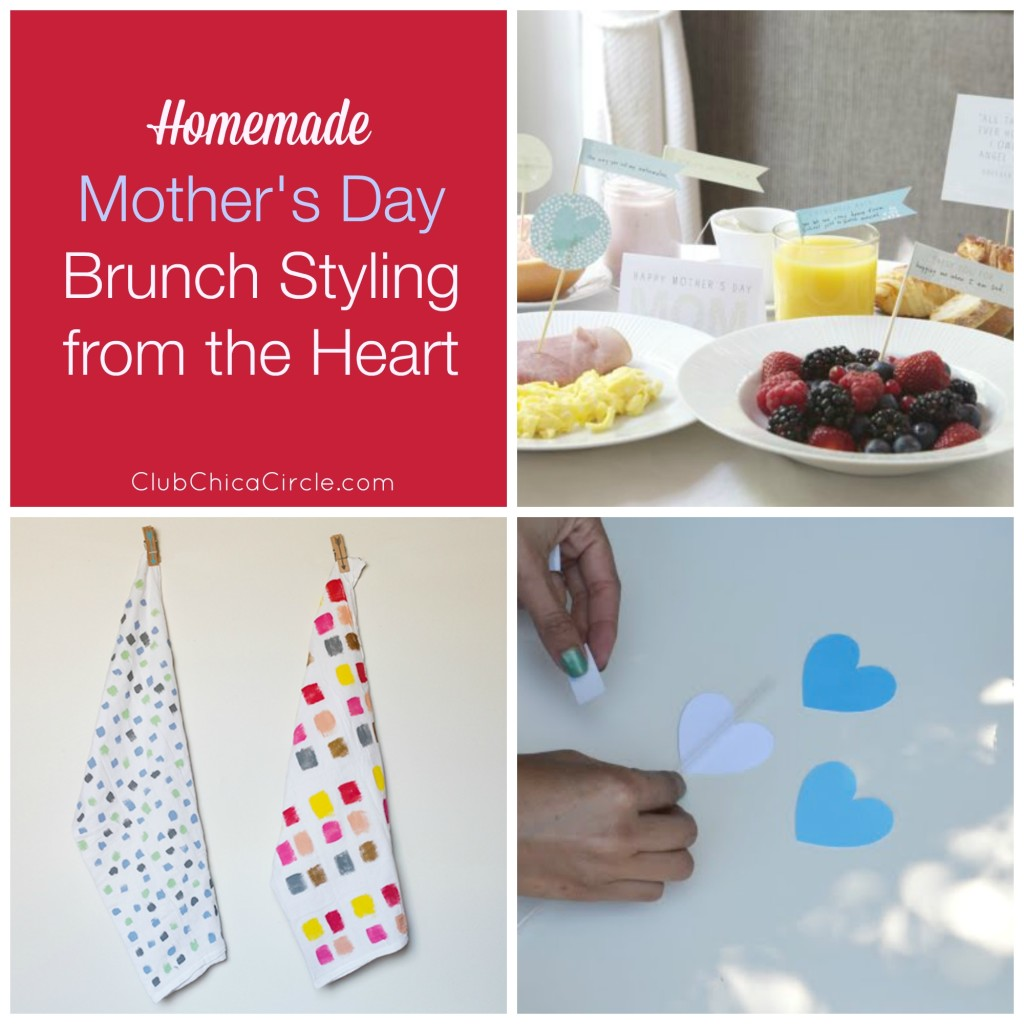 Roundup of Homemade Mother's Day Gift Ideas