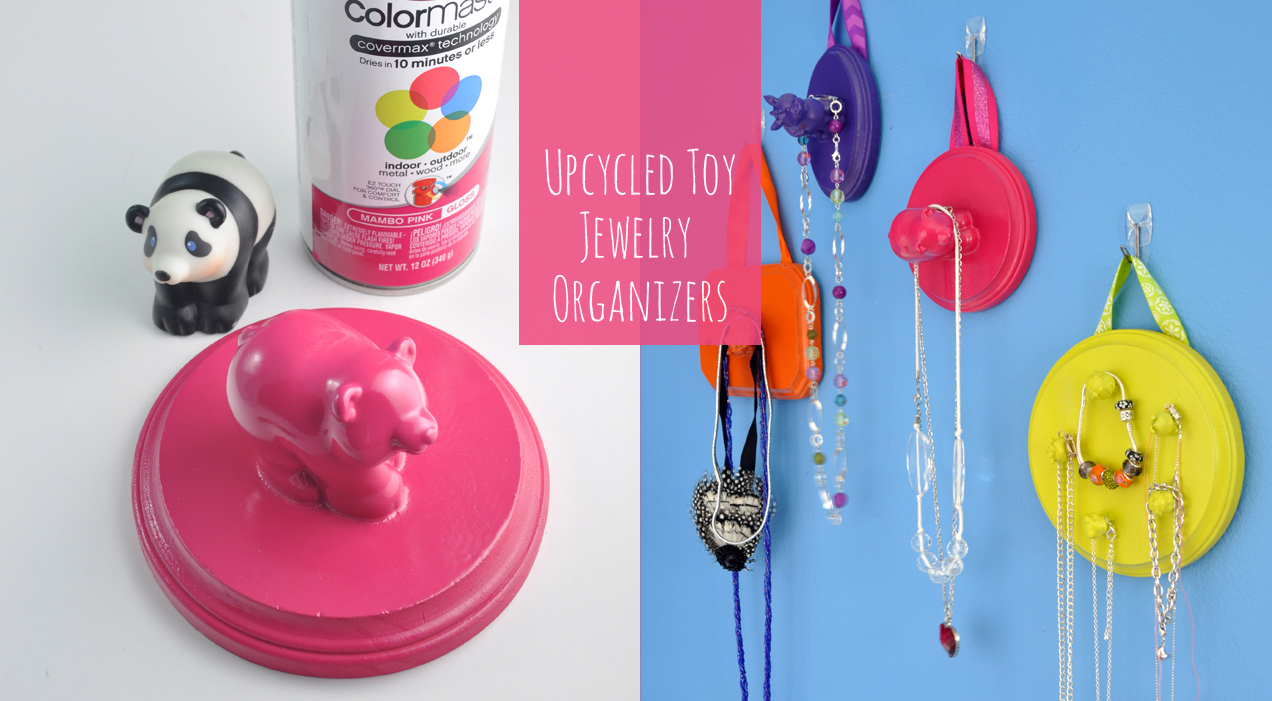 Upcycled Toy Hanging Organizers Tween Room Decor Craft Idea