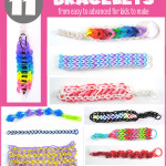 11 Rainbow Loom Bracelets for kids to make