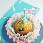 Dyed Coffee Filter Cupcake Flowers for Mother's Day