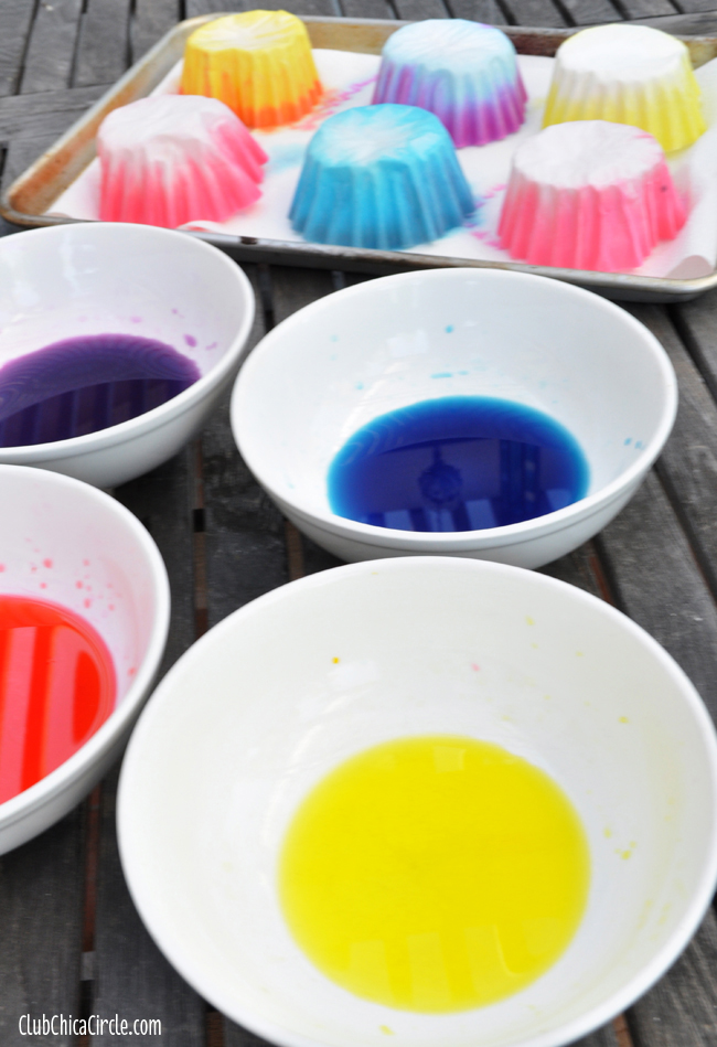 How to dye coffee filters with food coloring copy