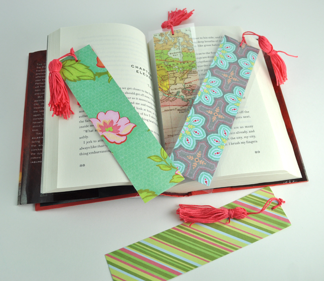 How to make tassel paper bookmarks