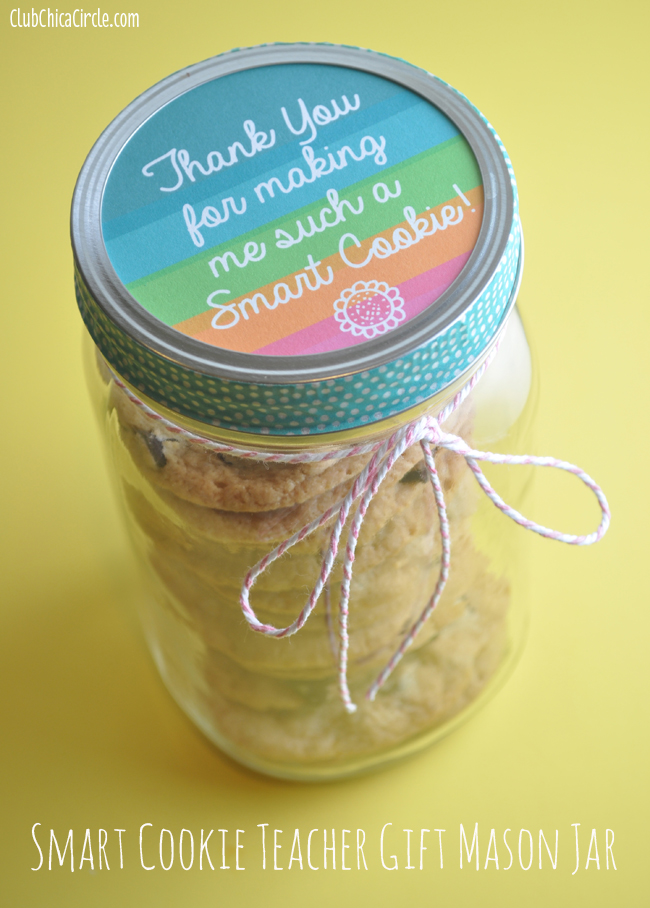 Smart Cookie Mason Teacher Gift Jar