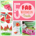 5 Fab Watermelon Dessert Treats Round up