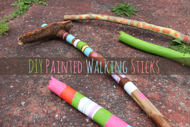 DIY-Painted-Walking-Sticks