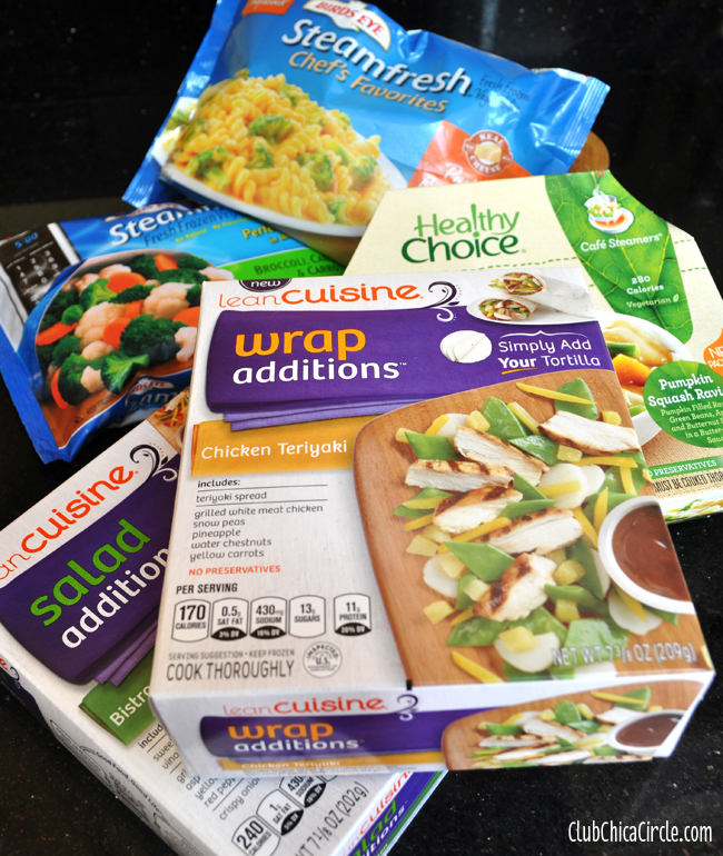 Frozen foods for easy food prep copy
