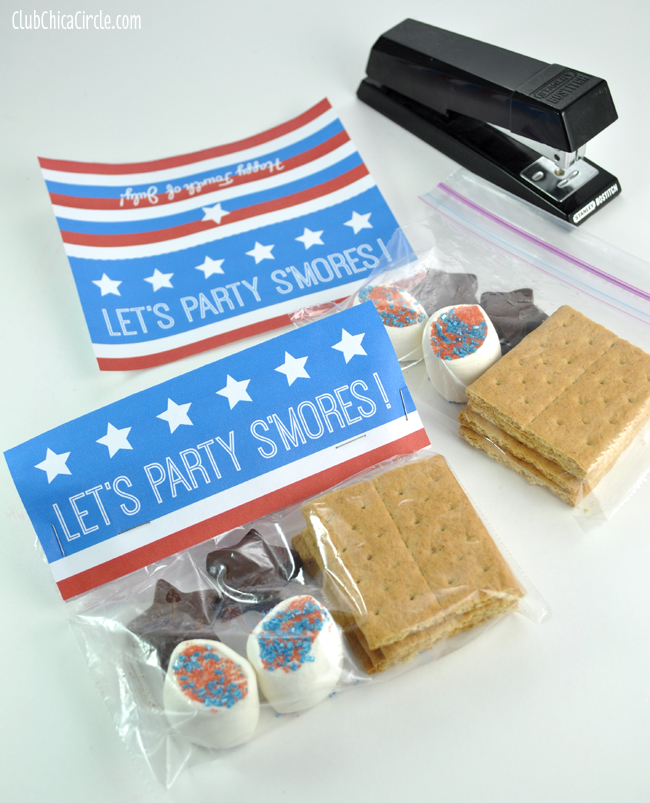 Let's Party S'mores Party Packs DIY