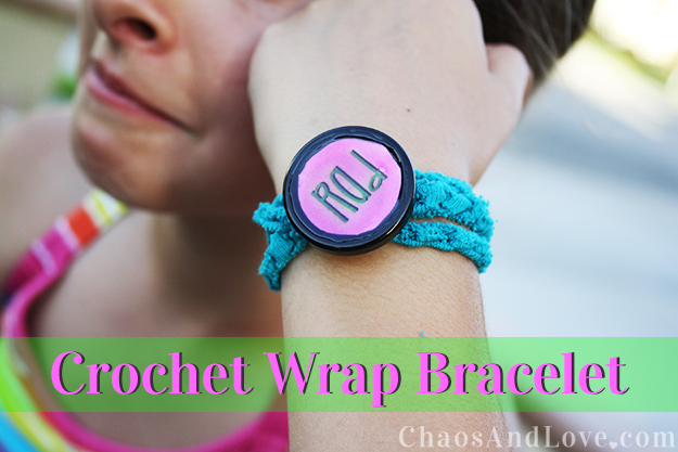 crochet-wrap-bracelet tween craft idea
