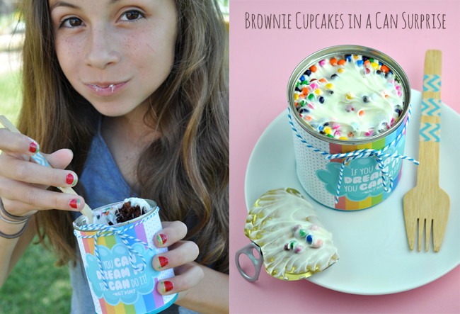 surprise cupcakes in a can graduation gift idea for kids