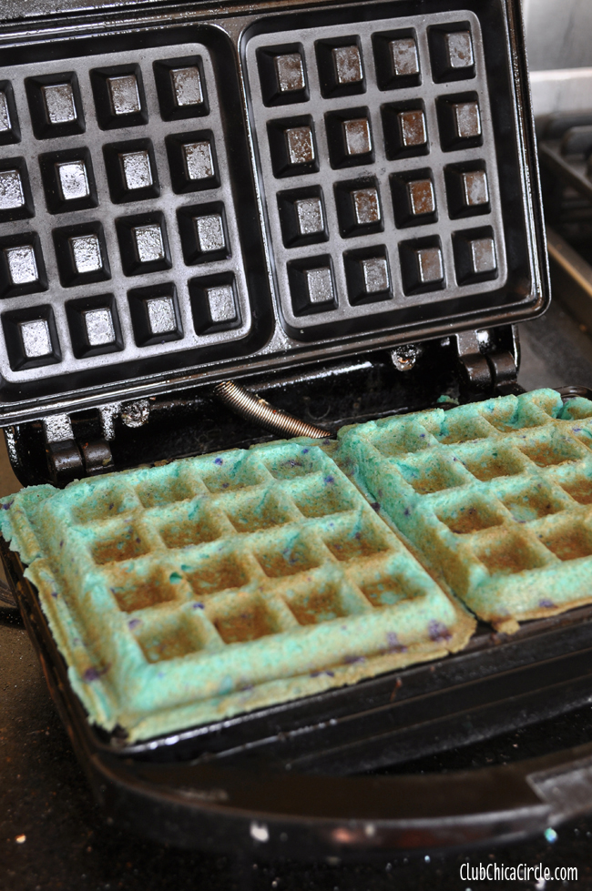 Cookie Waffles dessert DIY