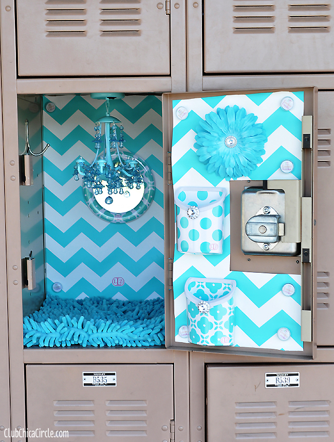 Glam Up Your Locker with LLZ by LockerLookz