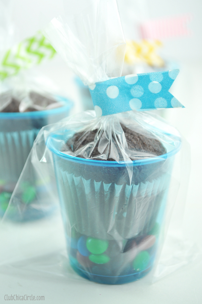brownie treat cup idea for parties