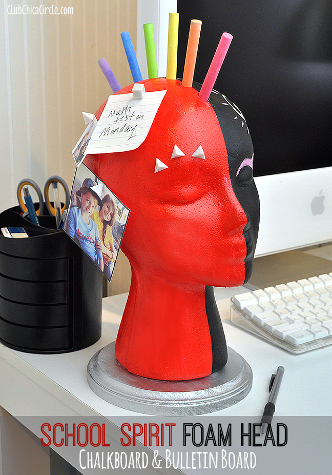 Back to School Bulletin Board Foam head