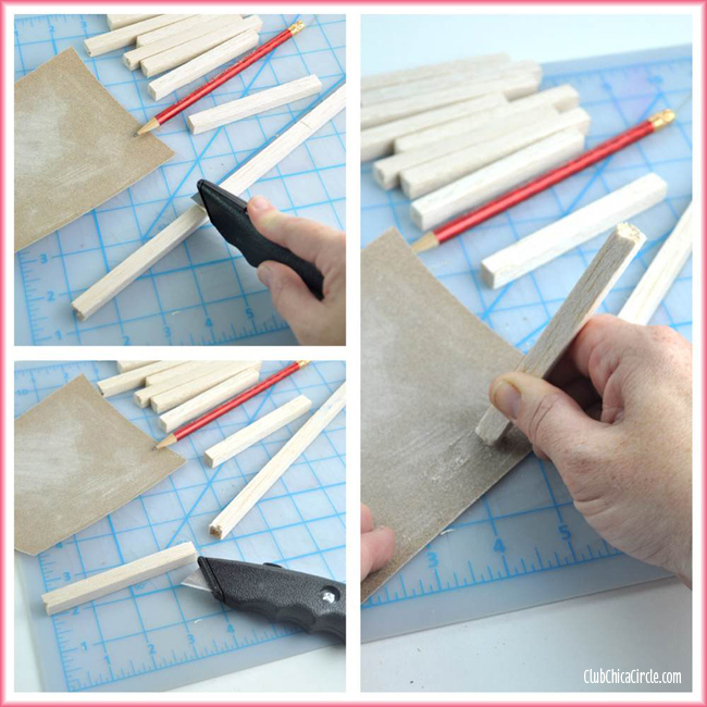 Balsa Wood for Mini Wood Pallet Craft