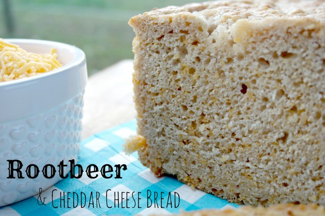 Rootbeer and Cheddar Cheese bread