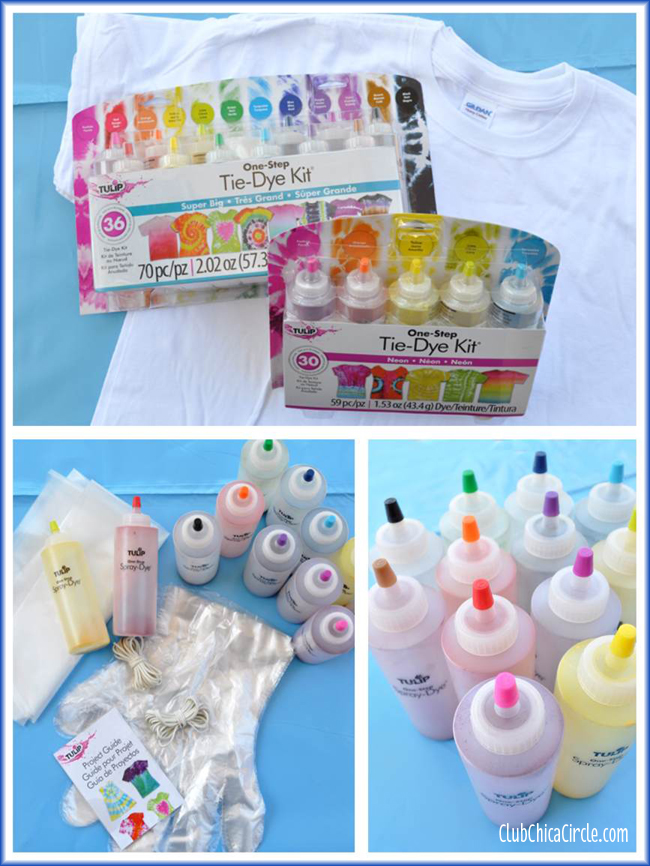 Tulip One-Step Tie-Dye Supplies for Tween party