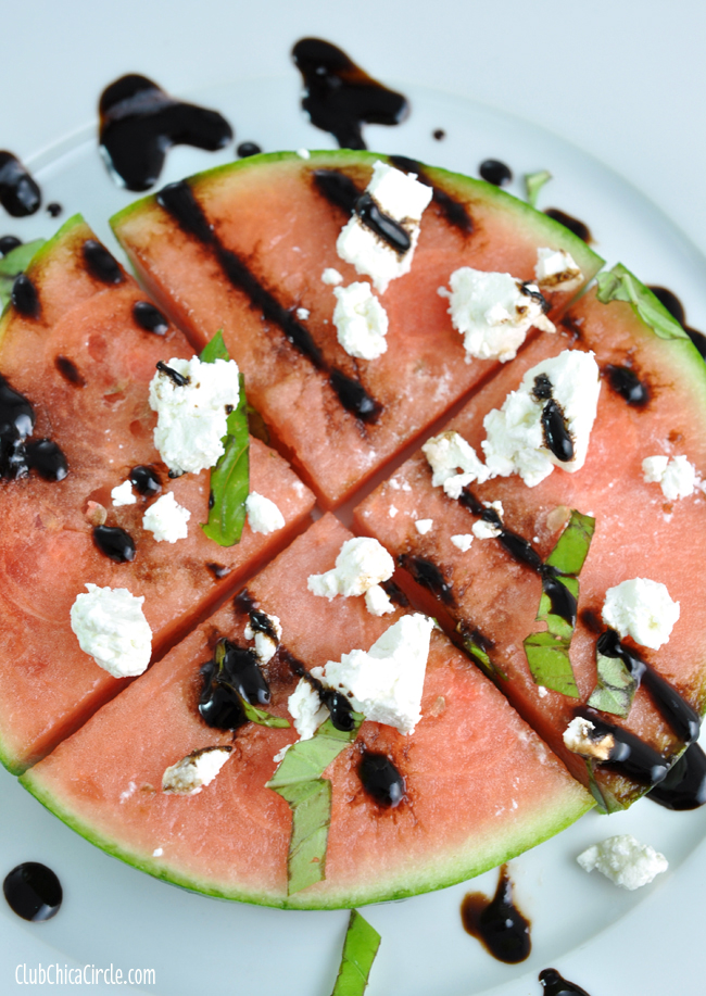 Watermelon Pizza easy snack idea