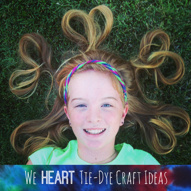 We Heart Tie-Dye Craft Ideas @clubchicacircle