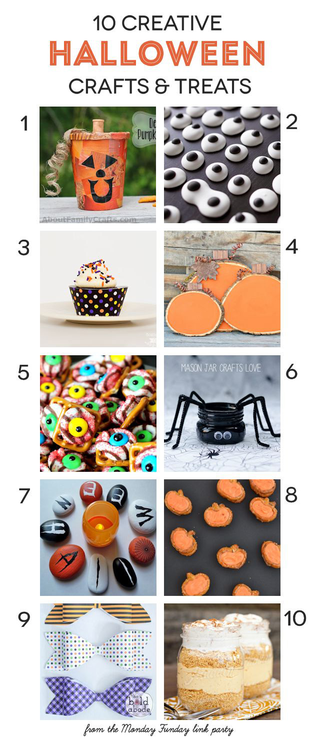 10 creative Halloween crafts and treats