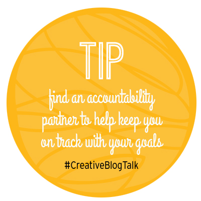Accountability partner blog tip