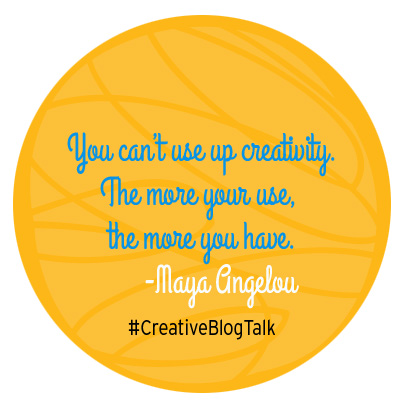 Creativity Maya Angelou Quote