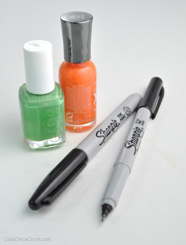 Halloween Nail supplies