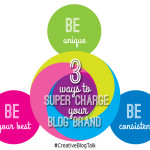 3 Ways to Super Charge Your Blog Brand