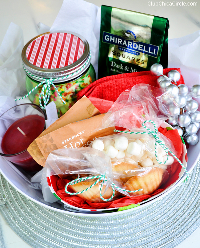 Easy holiday gift basket ideas giveaway holiday givebakery homemade gift idea negle Choice Image