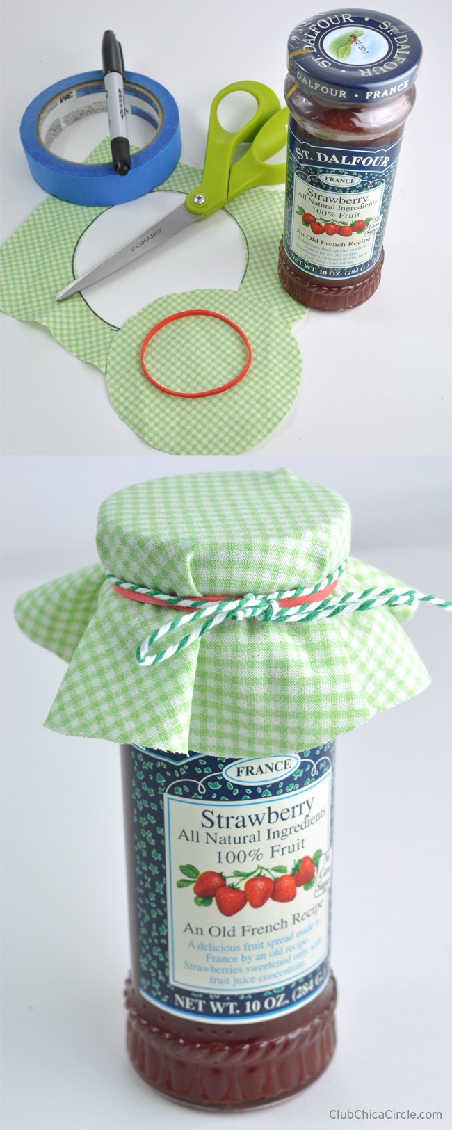 How to Dress Up Jam for Gift Basket