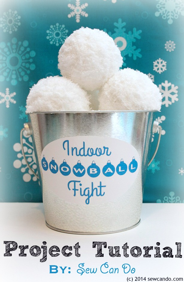 Indoor Snowball Fight Kit