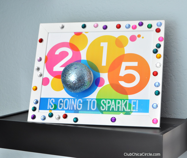 2015 is Going To Sparkle Sign with Free Printable