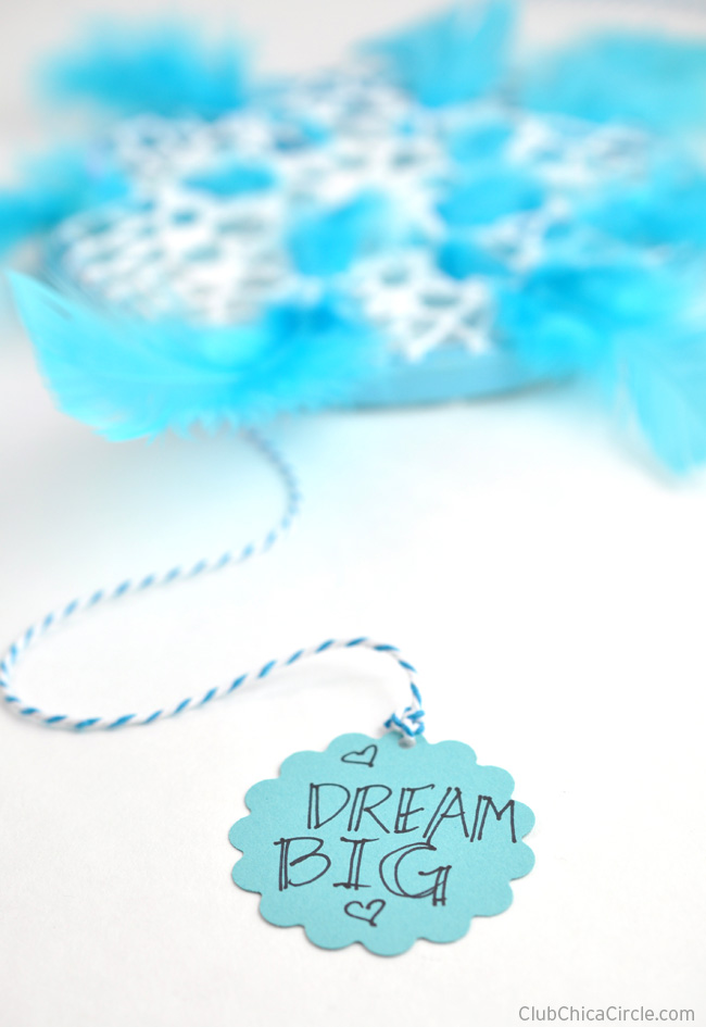Dream Big Homemade Dream Catcher