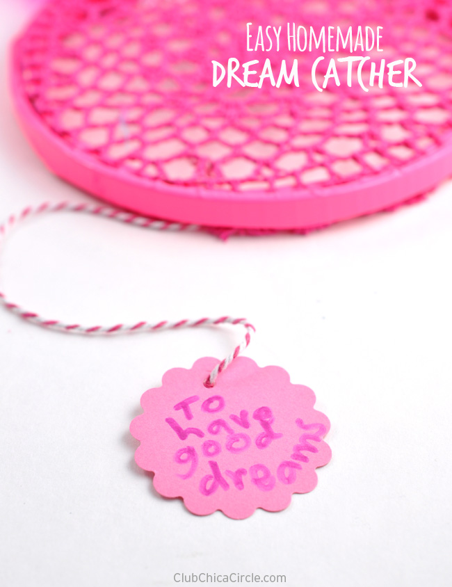 Super Simple Dream Catcher Craft for Kids