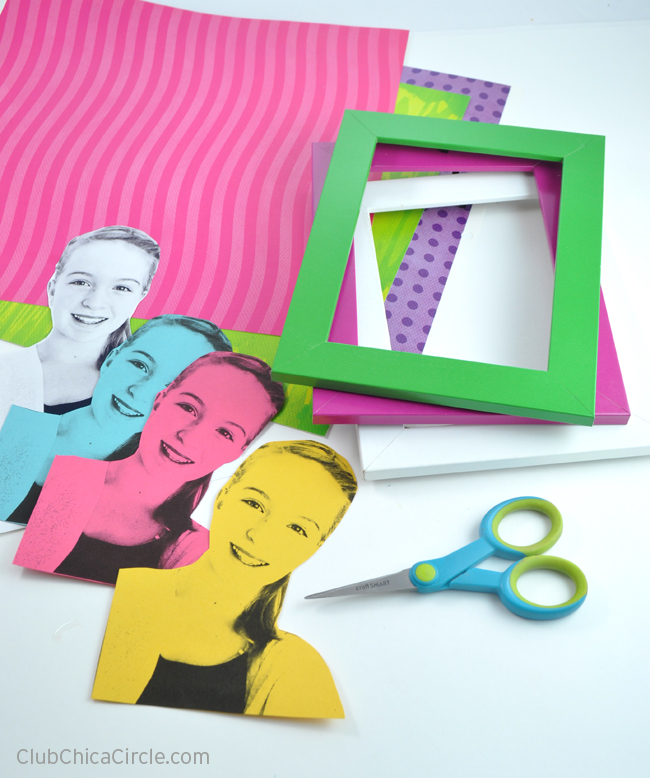 modern selfie portrait diy for tweens