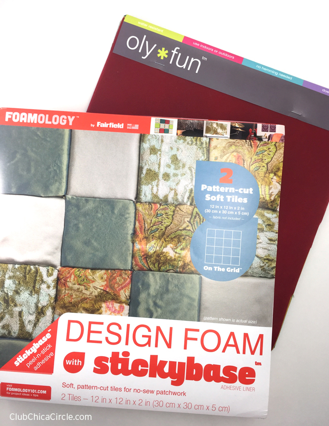 Design Foam and Oly Fun craft supplies