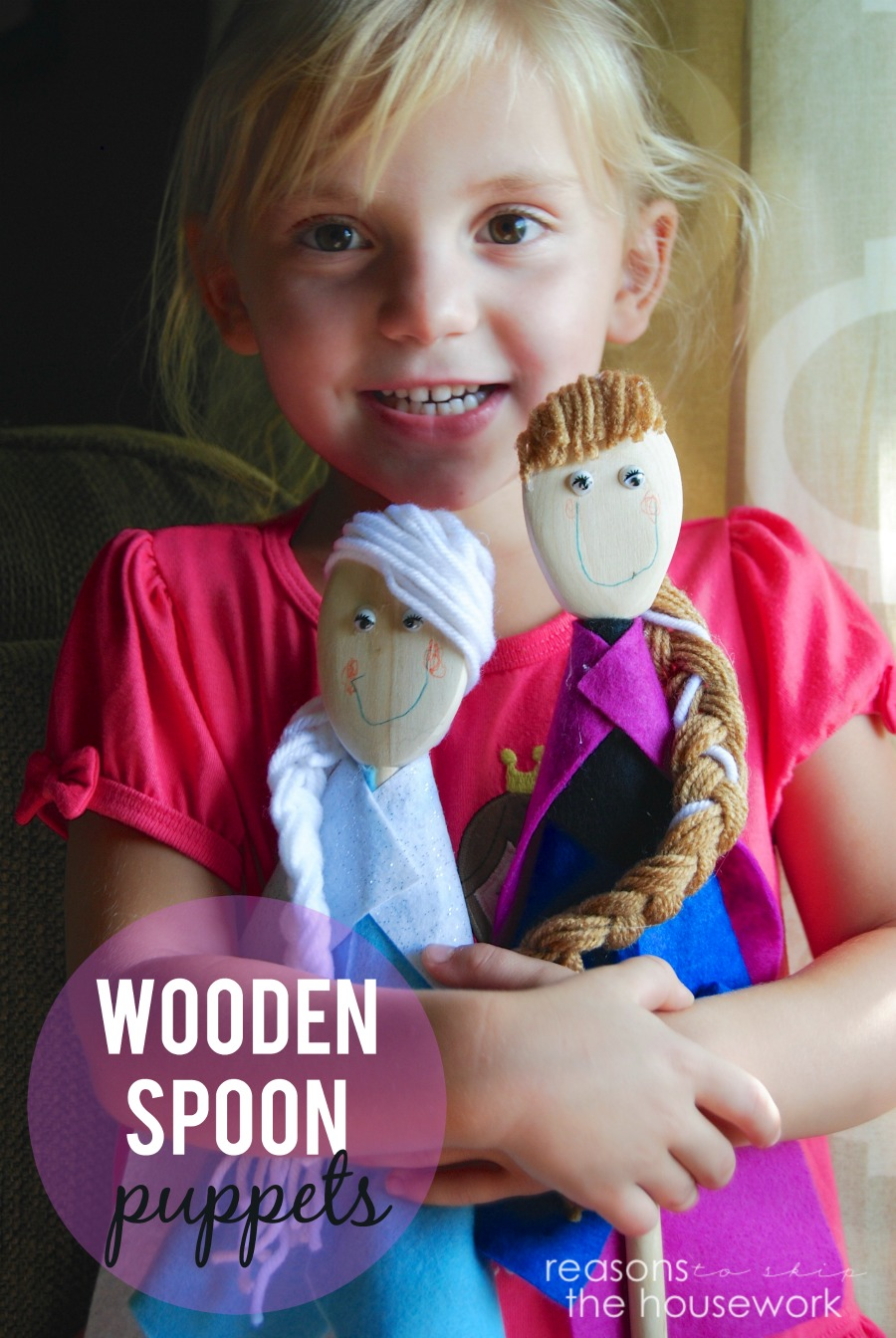 wooden-spoon-puppets #mondayfundayparty
