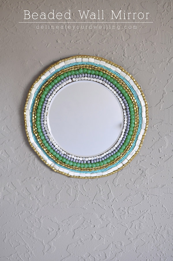 Beaded-Wall-Mirror