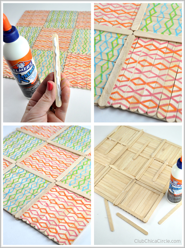 How to make a wood tic tac toe gameboard