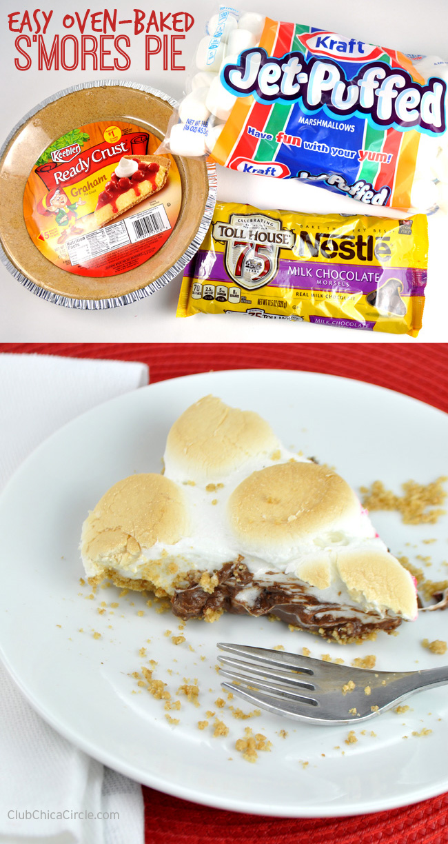 Easy S'mores Pie Recipe