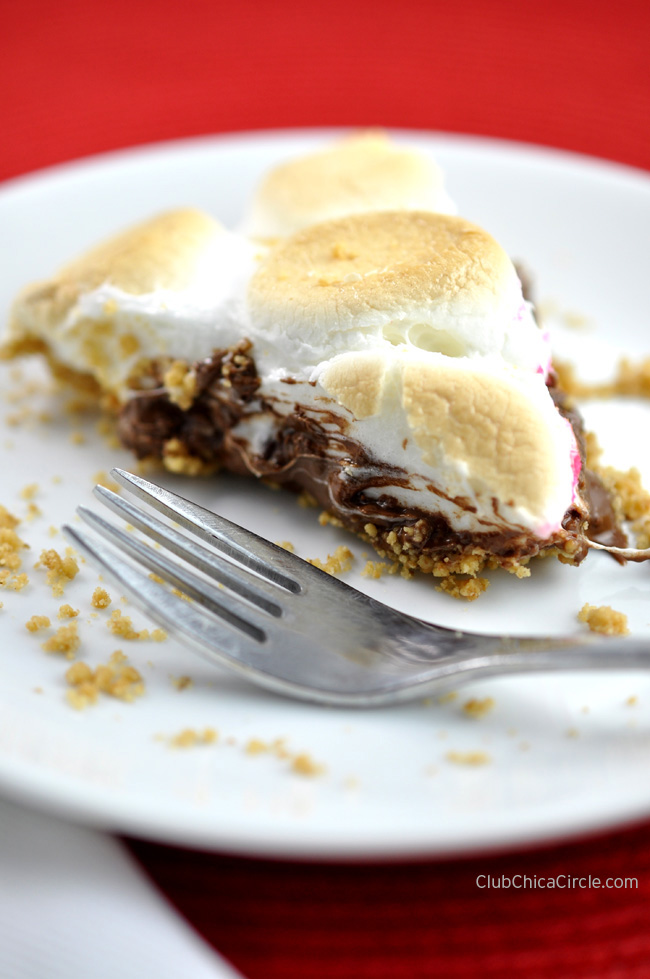 Homemade Smores Pie