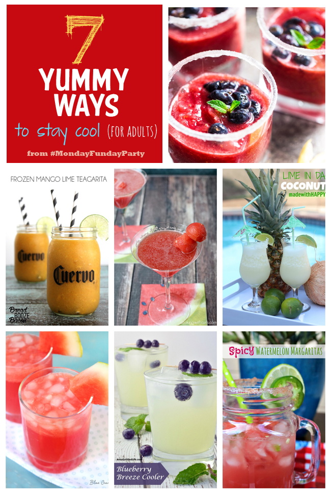 7 Yummy Summer Drink Ideas #MondayFundayParty