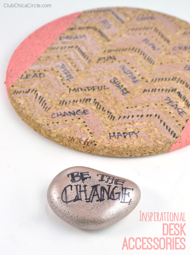 Inspirational Handmade Custom desk accessories @clubchicacircle