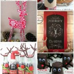 8-Reindeer-Project ideas #mondayfundayparty