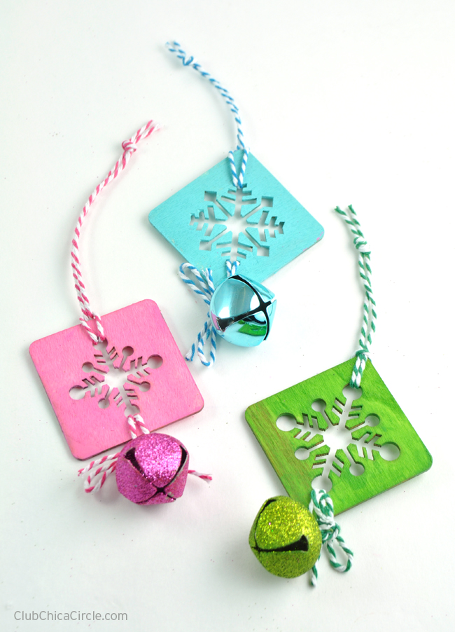 pretty homemade ornaments craft idea