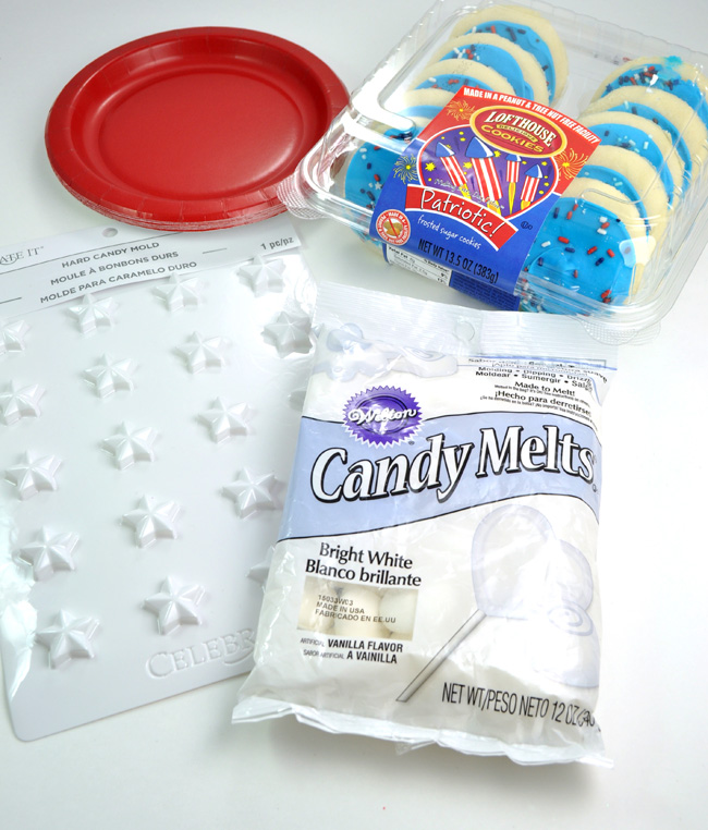 Captain America Cookie supplies